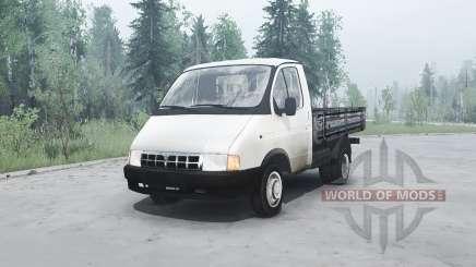ГАЗ 3302 Газель для MudRunner