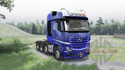 Mercedes-Benz Actros 4163 SLT (MP4) для Spin Tires