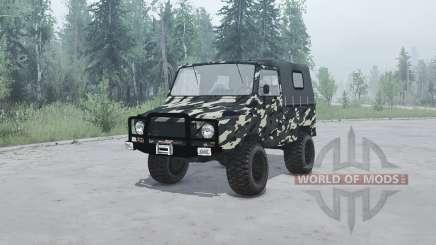 ЛуАЗ 969М Волынь v1.1 для MudRunner