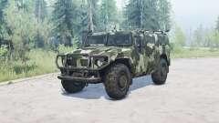 ГАЗ 2330 Тигр v1.2 для MudRunner
