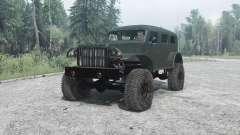 Dodge WC-53 Carryall (T214) 1942 для MudRunner