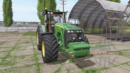 John Deere 8230 v3.0 для Farming Simulator 2017