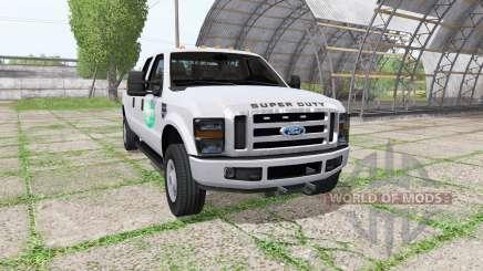 Ford F-350 Super Duty Crew Cab для Farming Simulator 2017