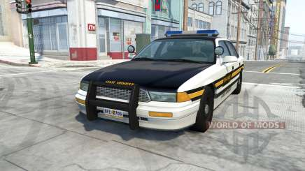 Gavril Grand Marshall tennessee state trooper для BeamNG Drive