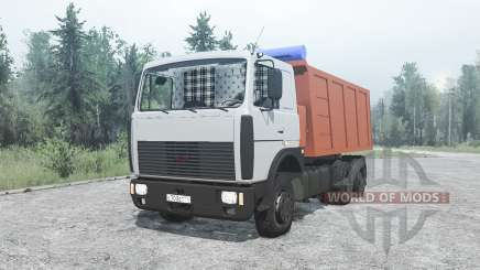 МАЗ 5516 для MudRunner
