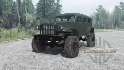 Dodge WC-53 Carryall (T214) 1942 для MudRunner