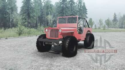 Willys MB off-road для MudRunner