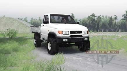 УАЗ 23608 для Spin Tires