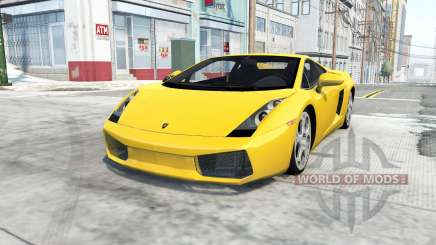 Lamborghini Gallardo 2005 для BeamNG Drive