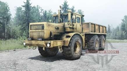 Кировец К 701М 6x6 для MudRunner