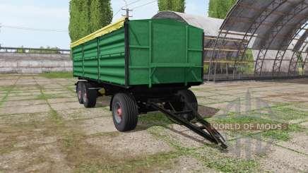 Vasonzo 18t для Farming Simulator 2017