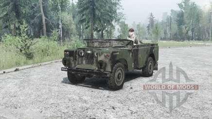 Land Rover Series II для MudRunner
