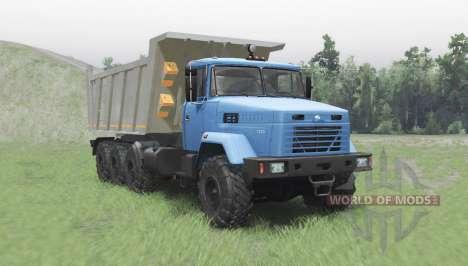 КрАЗ 7140С6 для Spin Tires