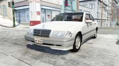 Mercedes-Benz C 200 (W202) для BeamNG Drive