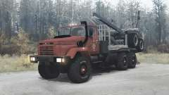 КрАЗ 64372 для MudRunner