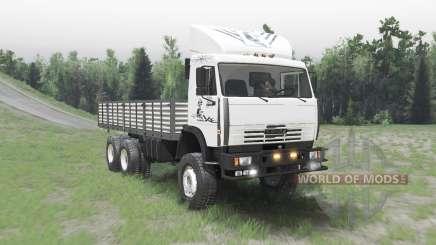 КАМАЗ 65111 v2.2 для Spin Tires