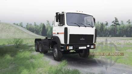 МАЗ 6422 v1.3 для Spin Tires