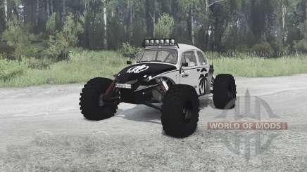 Volkswagen Beetle PreRunner для MudRunner