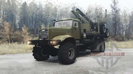 КрАЗ 255 микс для MudRunner