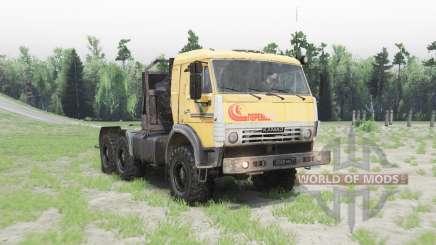 КамАЗ 53504 v1.2 для Spin Tires