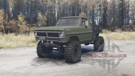 Ford F-350 1970 для MudRunner