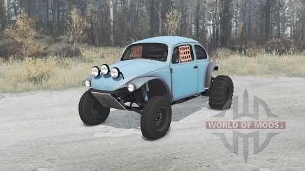 Volkswagen Beetle 1968 PreRunner для MudRunner