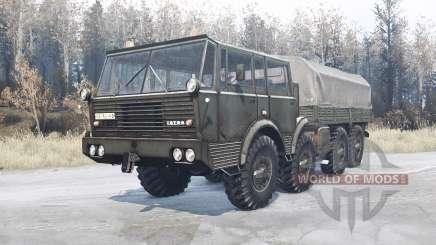 Tatra T813 TP 8x8 для MudRunner