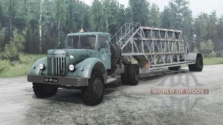 МАЗ 200В для MudRunner