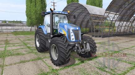New Holland TG285 v1.0.1 для Farming Simulator 2017