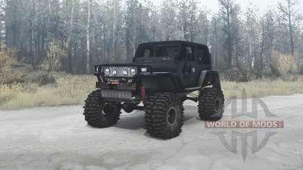 Jeep Wrangler (TJ) custom для MudRunner