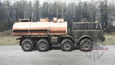 Tatra T813 TP 8x8 green для Spintires MudRunner