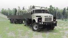 КрАЗ 260 4x4 Armata для Spin Tires