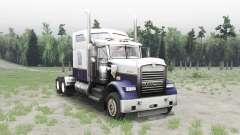Kenworth W900 white для Spin Tires