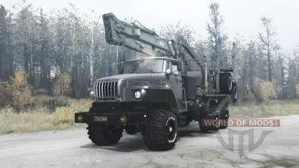 Урал 4320-60 для MudRunner