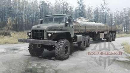 Урал 377Н для MudRunner