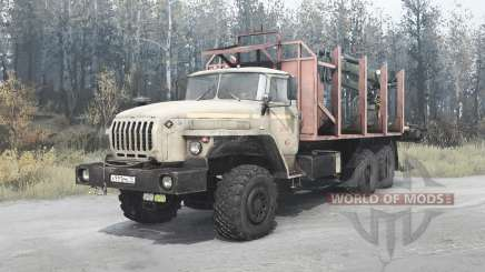 Урал 4320-1912-40 для MudRunner