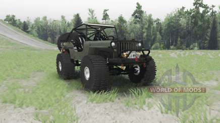 Jeep Willys MB custom для Spin Tires