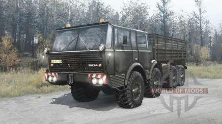 Tatra T813 TP 8x8 green для MudRunner