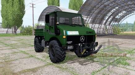 Mercedes-Benz Unimog U1600 green для Farming Simulator 2017