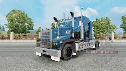 Mack Titan aqua для Euro Truck Simulator 2