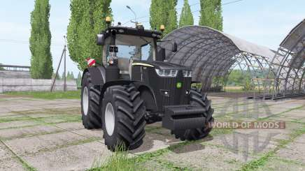 John Deere 7290R black edition для Farming Simulator 2017