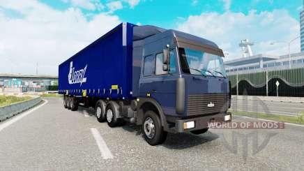 Russian traffic pack v2.3 для Euro Truck Simulator 2
