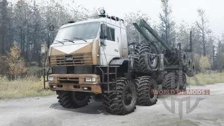 КАМАЗ 6560 Полярник для MudRunner