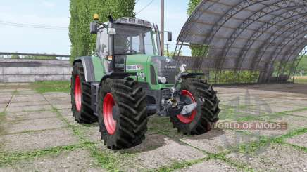 Fendt 820 Vario TMS v1.4 для Farming Simulator 2017