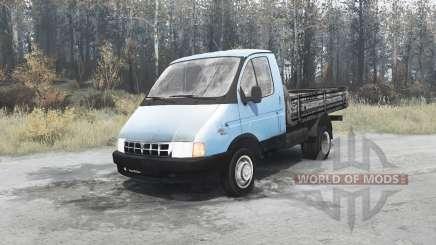 ГАЗ 3302 ГАЗель 1994 для MudRunner