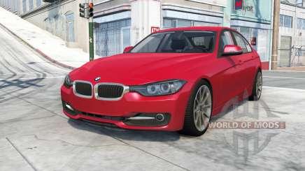 BMW 335i sedan Sport Line (F30) 2012 для BeamNG Drive