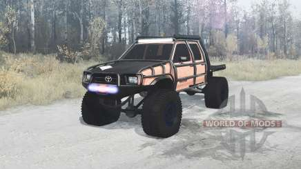 Toyota Hilux Double Cab 1996 extreme для MudRunner