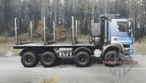 Tatra Phoenix T158 8x8 2012 для Spintires MudRunner