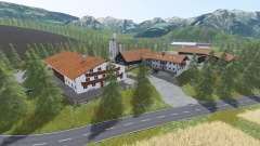Альпийская долина для Farming Simulator 2017