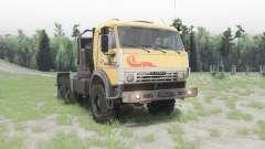 КамАЗ 53504 v1.7 для Spin Tires